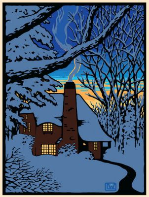 THE GLOAMING MINI GICLEE PRINT