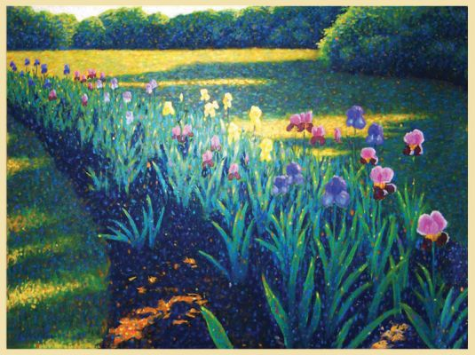 CLEARANCE- THE IRIS GARDEN MINI GICLEE PRINT