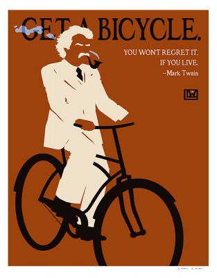 GET A BICYCLE POSTER