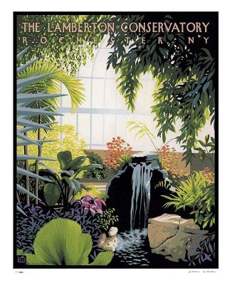 CLEARANCE- LAMBERTON CONSERVATORY POSTER