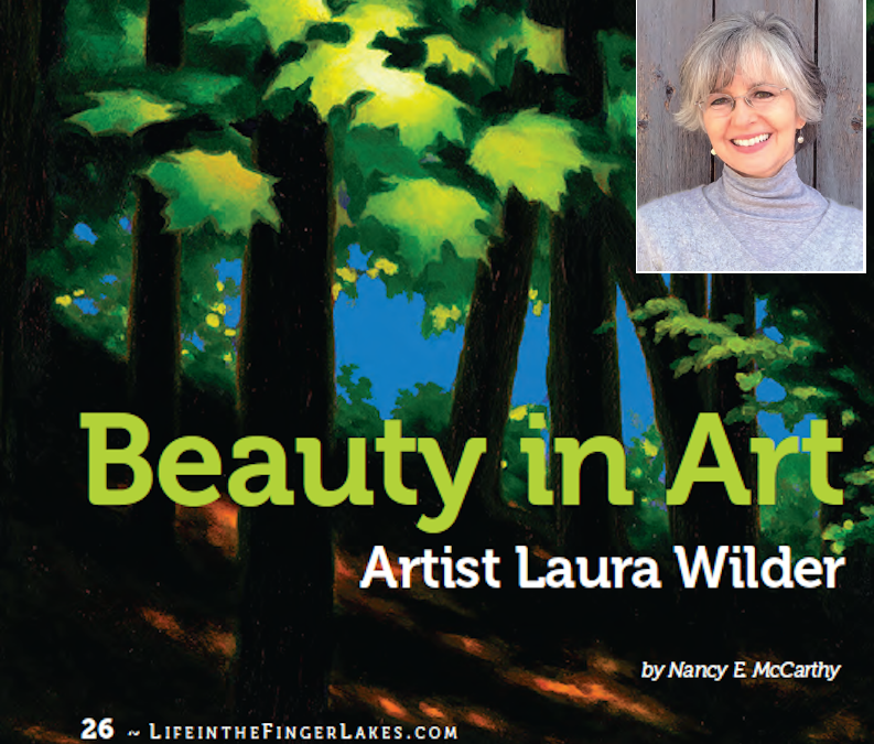 Life in the Finger Lakes magazine – Off the Easel